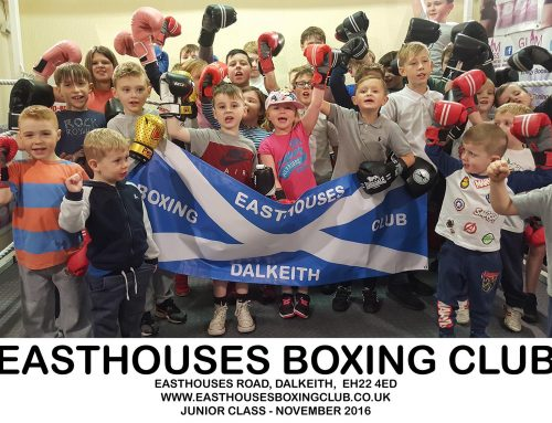 Juniors To Take Part In Easthouses Boxing Club's Fight Night in EMC.
